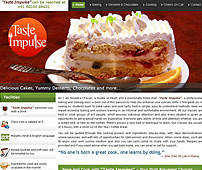 Web Design for Baking & Cookery Courses