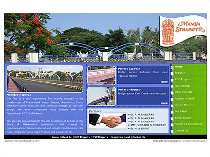 Web Design for Civil Engineering Firm