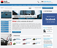 Online Catalogue for Car Leasing