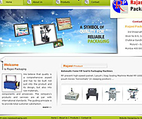 Packaging Machinery Web Design