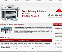 Printing Solutions Website