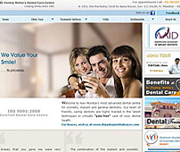 Web design for Dentist Clinic