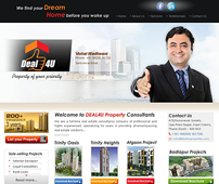 Web Designing for Real Estate Consultant