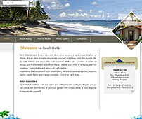 Web development for Holiday Home