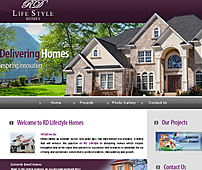 Web designing for Lifestyle Homes