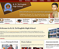 Website for Educational Institution