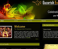 Website of  of Event Service