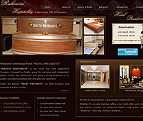 Website for the Hotel Industry