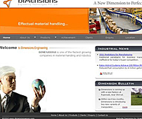 Website of Industrial Automation Company