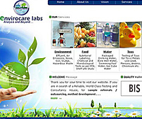 Website for Laboratory Testing Services