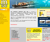 Website for Manning & Training of Ship Personnel