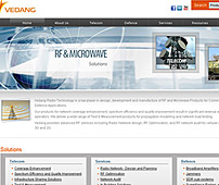 Website for Radio Frequency Products