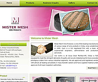 Website of Wired Products Manufacturer